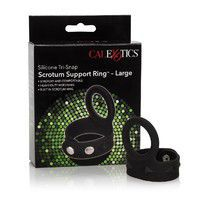CalEx Silicone Tri-Snap Scrotum Support Ring - large