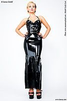 Latex Abendkleider