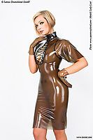 Latexkleid, Latex-Kleid, Kleid, Latex