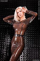 Latexkleid, rubberkleid, gummikleid, skirt, anatomischer BH, Crossdresser, Transvestit Latexkleid, Latex-Kleid, Kleid, Latex