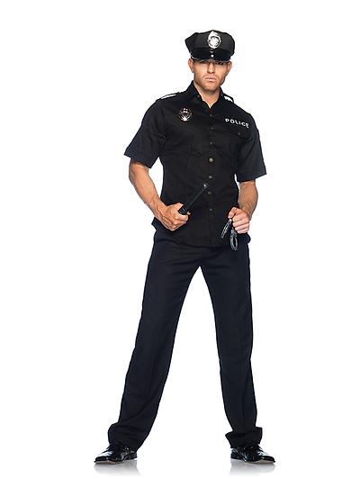 Police Officer Set 4-teilig